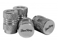Simoni Racing Set Air-valve caps Milled - Chrome