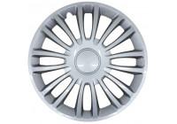 4-piece G3 Wheel Trim Hub Caps set of 4 Verona 16 inch silver