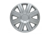 Wheel Trim Cosmos Silver 15 Inch Hub Caps set of 4