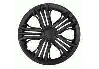 Wheel Trim Fun Black 16 Inch Hub Cap set of 4