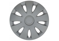 Wheel Trim Hub Caps set of 4 Aura Ring Silver 13 Inch