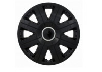 Wheel Trim Hub Caps set of 4 Cosmos Black 13 Inch