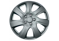 Wheel Trim Hub Caps set of 4Carolina 17-inch matt charcoal