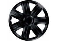 Wheel Trim Hub Caps set of 4Comfort Black 15 Inch