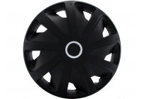 Wheel Trim Hub Caps set of 4Craft RC Black 15-inch