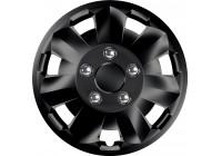 Wheel Trim Hub Caps set of 4Nova NC Black 14 inch