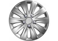 Wheel Trim Hub Caps set of 4rapide NC Silver 13 inch