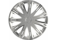 Wheel Trim Hub Caps set of 4Spark Silver 17 Inch