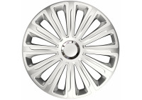 Wheel Trim Hub Caps set of 4Trend Silver 15 inch