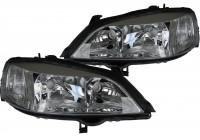 Jeu de phares adaptable sur Opel Astra G Chrome 20-5488-08-2 + 20-5487-08-2 TYC