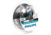 Philips 12258XVS2 H1 vision X-treme 55W 12V - 2 pièces