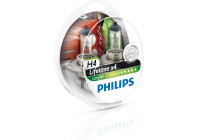 Philips 12342 H4 Longlife EcoVision S2 - 2 pièces