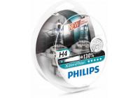 Philips 12342XVS2 H4 X-tremeVision 130% - 2 pièces