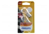 Philips 12499B2 P21 / 5W Premium 12V - 2 pièces
