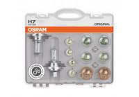Jeu d'ampoules de rechange Osram 24V H7