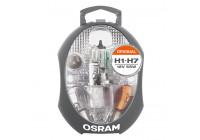 Osram Jeu de lampes de rechange H1 / H7