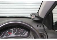 RGM A-pelare Mount höger - 1x 52mm - Peugeot 206 CC plus -. Svart (ABS)