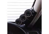 RGM A-pelare Mount höger - 3x 52mm - Peugeot 206 excl.CC - Carbon-Look