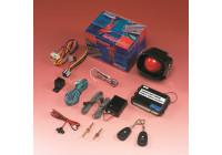 Universal larmsystem med ultraljud inkl. 2 fjärrkontroller
