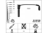 Ignition Cable Kit RC-DW1208 NGK