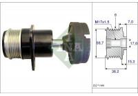 Alternator Freewheel Clutch 535015710 Ina