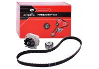 Water Pump & Timing Belt Set PowerGrip® KP15627XS Gates