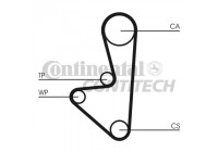 Timing Belt HTD 1029 9,525M 17 ZZP Contitech