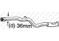 Repair Pipe, catalytic converter