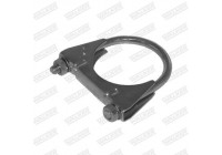 Clamp, exhaust system