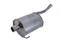 Exhaust backbox / end silencer 154-463 Bosal
