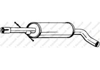 Middle Silencer 105-497 Bosal