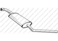 Middle Silencer 281-475 Bosal