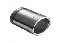 Ulter Sport Tail Pipe - Oval 95x65mm - Length 120mm - Montage 40-55mm - stainless steel