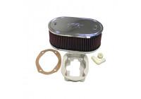 K & N filter förgasare DDO 229x140mm oval 83mm Höjd (56-1020)
