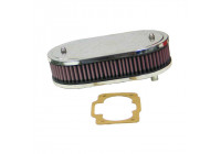 K & N filter förgasare DDO 229x140mm ovala 2H (56-1150)