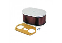 K & N filter förgasare DDO 114mm x 178x83mm Dellorto Drla (56-1691)