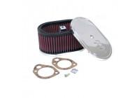 K & N filter förgasare SDO 178 mm x 114 mm oval 83mm Höjd (56-1320)