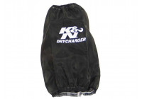 K & N Nylon muff svart (RF 1026DK)