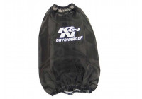K & N Nylon muff svart (RF 1032DK)