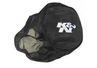 K & N Nylon muff svart (RX 4730DK)