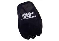 K & N Nylon muff svart (YA-3502PK)