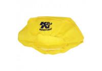 K & N Nylon täcker 14 'diameter, 102mm höjd, gul (22-1422PY)