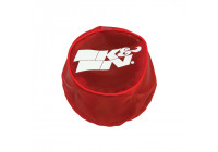 K & N konisk Nylon lock, röd (22-2042PR)