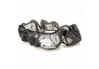 K & N Nylon muff svart (22-8002PK)