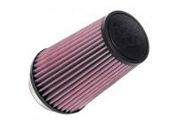 K&N universellt koniskt filter 89 mm anslutning, 140 mm botten, 102 mm topp, 203 mm höjd (RU-1045)