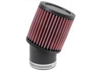 K & N universell ersättningsfilter cylindriska 62 mm (RU-1750)
