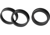 Luftfilter Adapterringar - set med 3 delar
