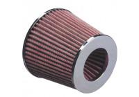Universal luftfilter konisk - 60,5 mm anslutning