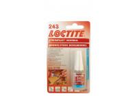 Loctite 243 Låsmedelsmedium (blått) 5 ml