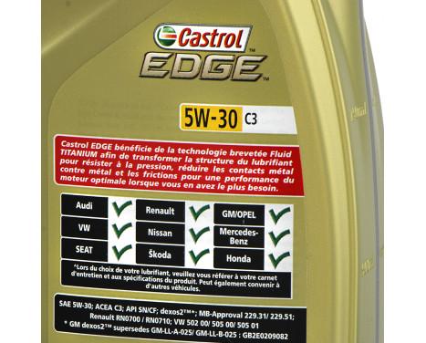 Motorolja Castrol Edge 5W30 Titanium C3 1L 157EEF, bild 2